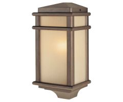Outdoor sconce MISSION LODGE