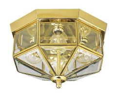 Outdoor flush mount BEVELED GLASS