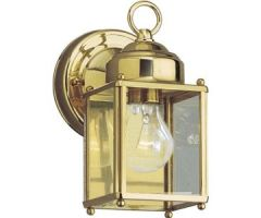 Outdoor sconce FLAT GLASS