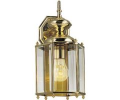 Outdoor sconce BRASS GUARD LANTERNS