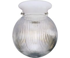 Flush mount GLASS GLOBES