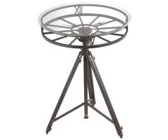 Furniture and decoration TRIPOD CLOCK TABLE
