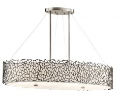 Chandelier SILVER CORAL