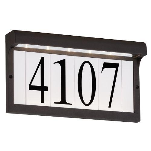 Mail box & addresses LED ADDRESS LIGHT