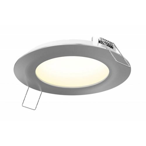 "Outdoor step light 4"" ROUND PANEL"