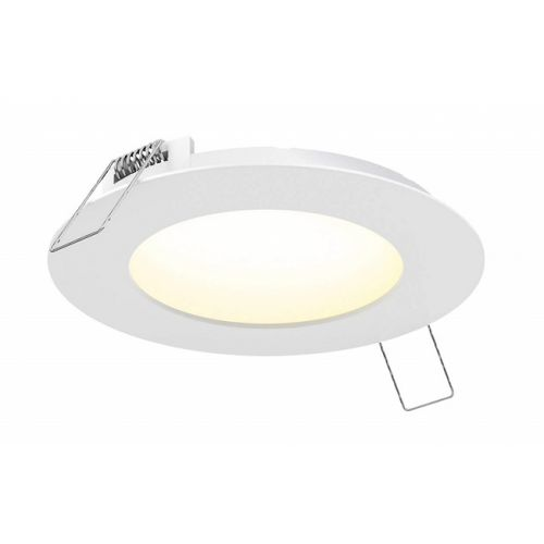 "Outdoor step light ROUND PANEL 6"" CCT"