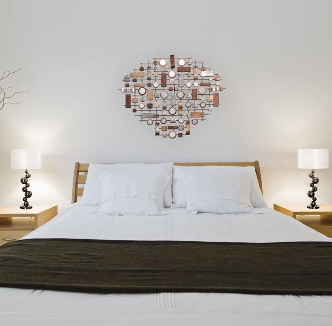 chambre lampe de table et miroir contemporain lighting. Black Bedroom Furniture Sets. Home Design Ideas