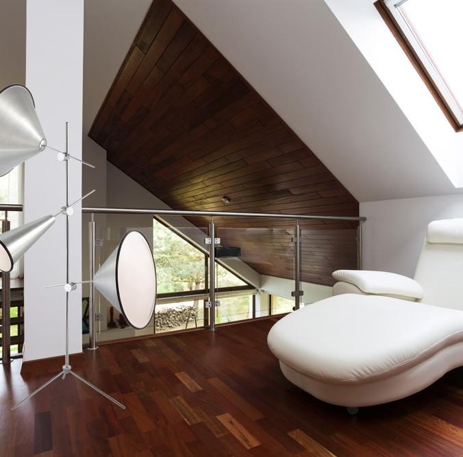 Salon lampe de plancher moderne multi luminaire - Lampe moderne salon ...