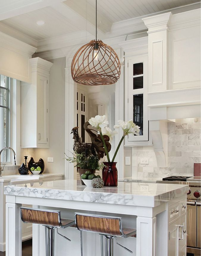 single kitchen island pendant