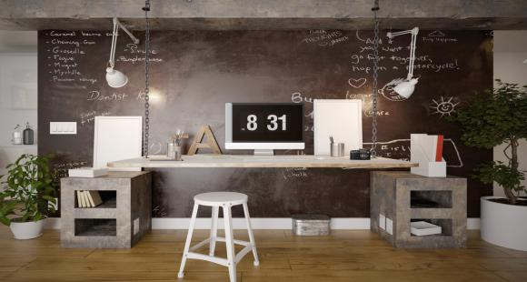 Set up the perfect space-saving study or office area!