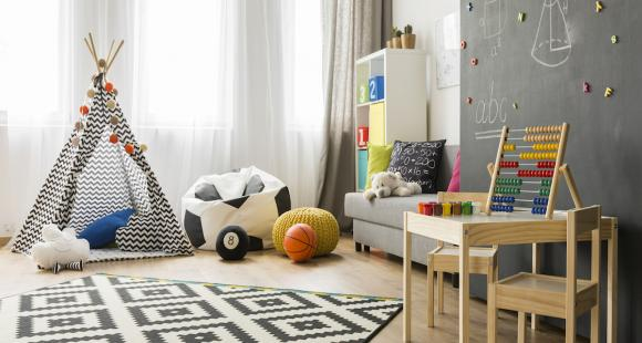 Create a playroom for your kids!