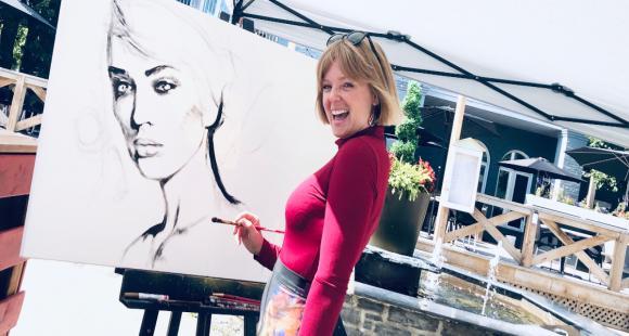 Cynthia Coulombe Bégin, a born artist!